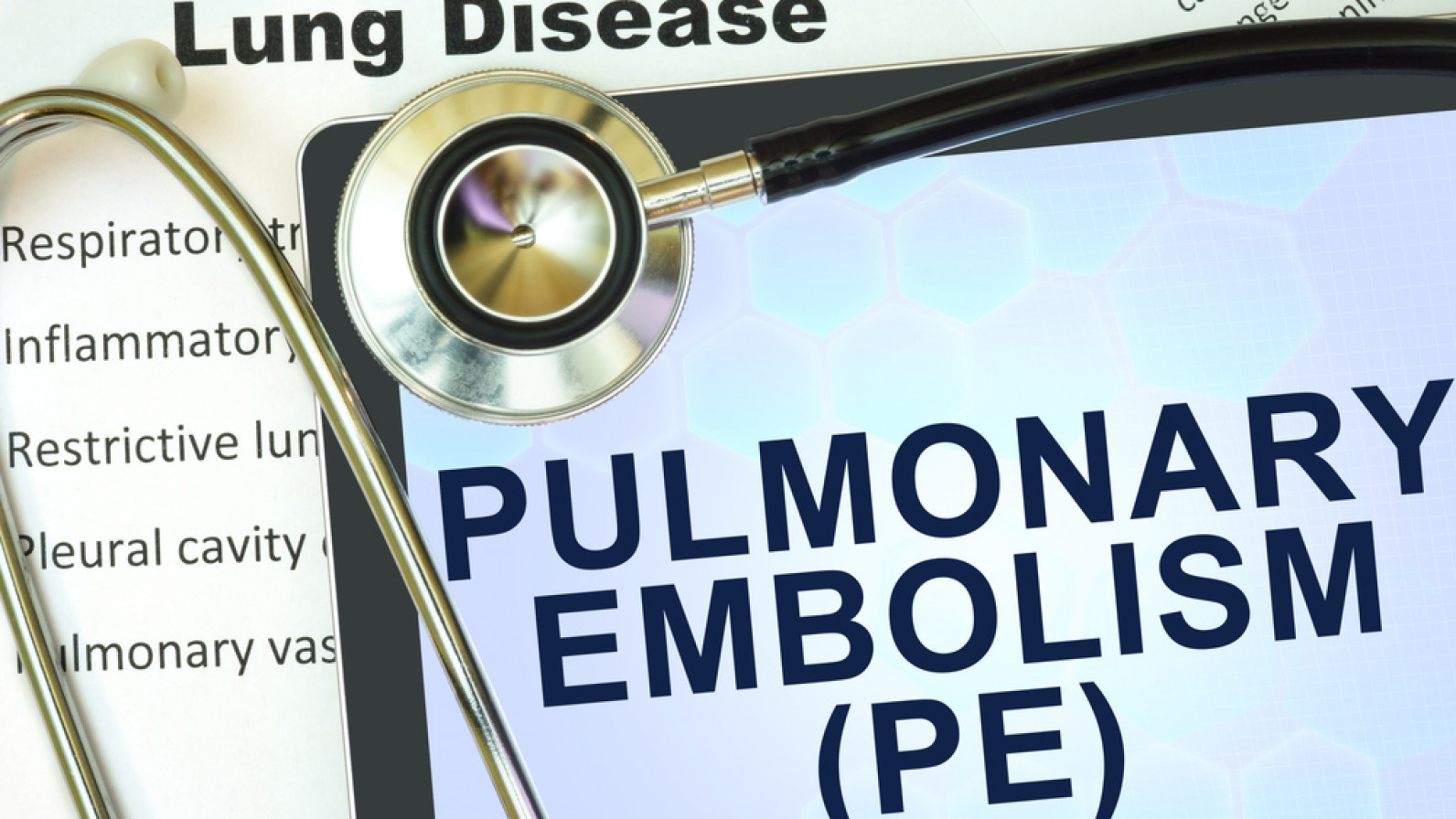 how to tell is its a pulmonary embolism